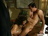 Hot vintage porn in office