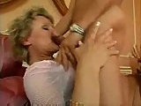 Titty mature gets her hairy twat drilled