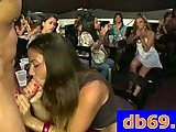 Hot sluts at blowjob party
