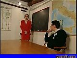 School porn in classroom