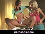 Natasha Shy toys with teen girlfriend
