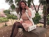 Meeting with cute asian babe