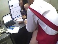 Japanese chick fucked at work