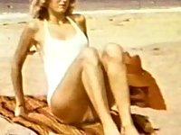Blonde Vintage Girl Gets Creamed