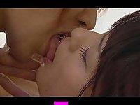 Asian Nurse Straponing Sweet Girl