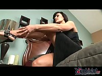 Lisa Ann with ball hooters banged