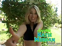 Katie Morgan was hoping to get some sun