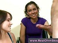 Cfnm femdom amateur party