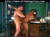 Sinnamon Love Busty Ebony Girl