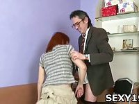 Hot and sexy girl gets cunt fucked scene 3