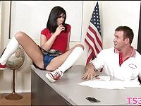 Dirty act with schoolgirl scene 4