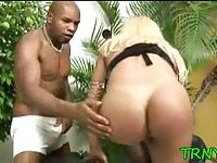 Tranny tries dirty experiments scene 3
