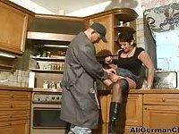 German Mature Housewife And Repairman