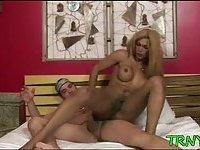 Hot tranny sucks for pleasure scene 2