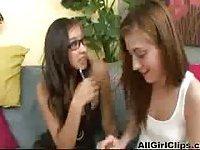 Lesbian girls love oral sex