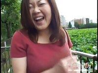 Chubby japanese mom