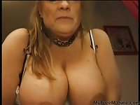 Mature  Catches Horny Maid Jilling