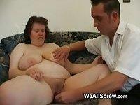 Большой член, пухлые, толстые мужики, толстые бабушки, толстушки