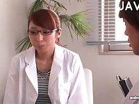 Japanese girl handjobing