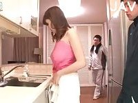 Pleasing Japanese gal