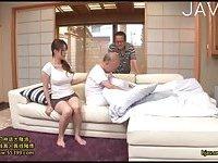 Busty Nurse Teasing  Grandpa