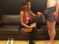 Teen girl and her mature lover