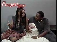 Hot Black Eureka Play With Teen Boyfriend