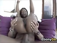 Ebony Girl Pounded In The Ass