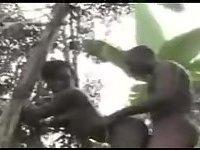 African aborigine drilling
