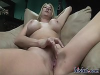 This blonde is a MILF