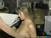 Blonde MILF Having Sex