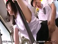 bus geek molest innocent girl 01