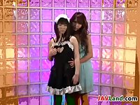Japanese Lesbian And A Maid