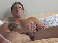 Stud gets jerking cock 2