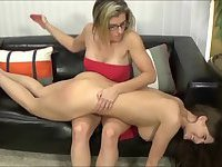 Cory Chase likes dominating Lesbian brunette