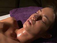 Brunette kiki gets the Enema Massage