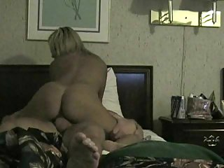Amateur blonde getting fucked