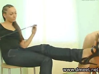 Russian Mistress In High Heels