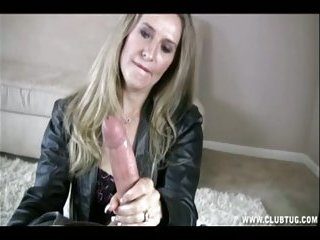 Milf Sara James Give Handjob