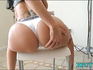 Hardcore sex with booty babes