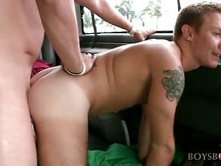 Horny gay getting ass fucked