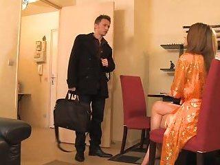 Slut gets her ass pounded
