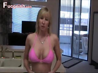 Hot Busty Mom With Cock Sucking Skills
