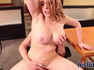 Her tight asshole gets rammed hard