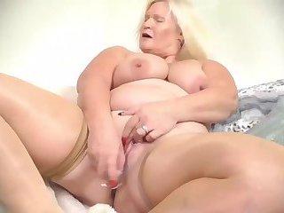 Europe Mature Blonde hairy grannies